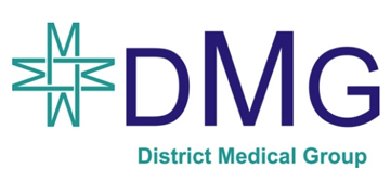District Medical Group logo