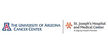 The University of Arizona Cancer Center/Dignity Health St. Joseph's Hospital and Medical Center logo